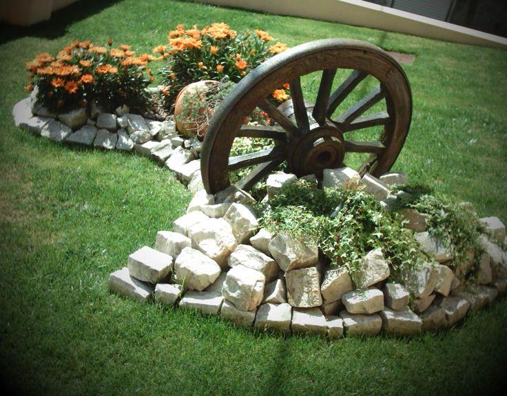 Imagens de jardins com pedras