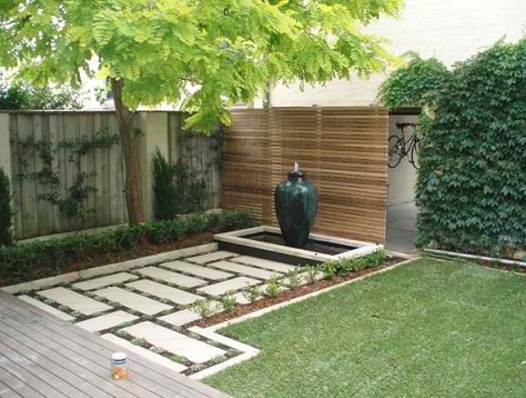 Imagens de jardins residenciais decorando casas for Back garden design ideas ireland