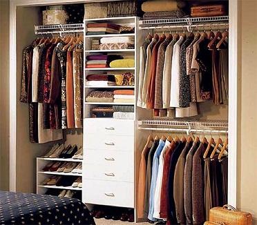 Quartos com closets pequenos e baratos