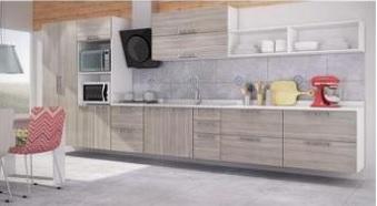 Armário de cozinha planejado grande