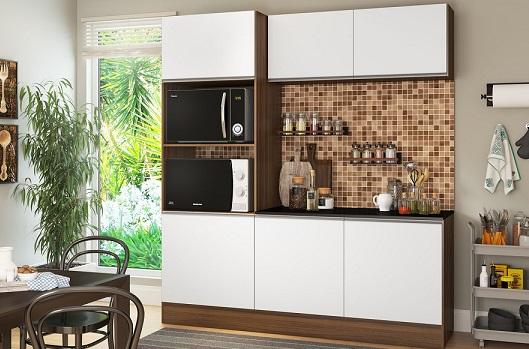 Armário de cozinha planejado pequeno