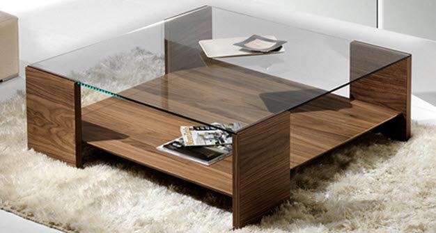 Como escolher a mesa de centro correta decorando casas for Modelos de mesas cuadradas