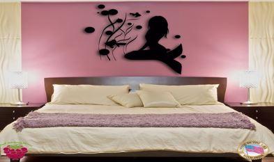 Decoração de quarto de menina no estilo sereia - Parcial