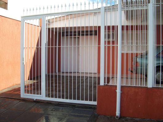 Portão de garagem deslizante