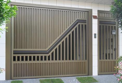 Portões-modernos-de-alumínio