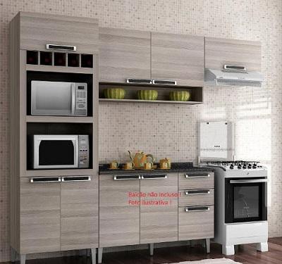 Armário de cozinha itatiaia - Madeira