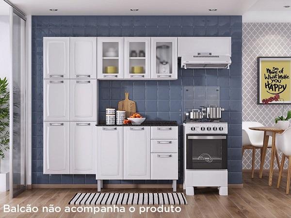 Armário de cozinha itatiaia simples