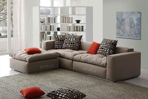 Como escolher o sof ideal para minha sala decorando casas for Sofas modernos para salas pequenas