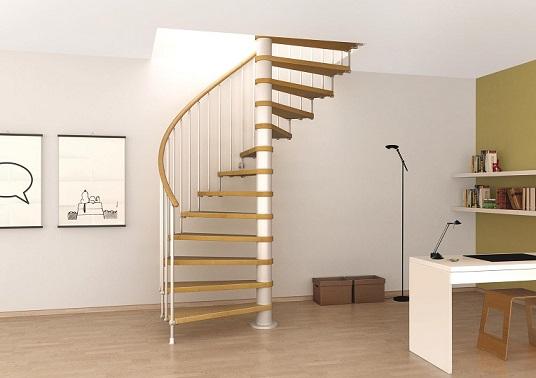 Escadas internas que ocupam pouco espa o decorando casas for Escaleras para lugares pequenos