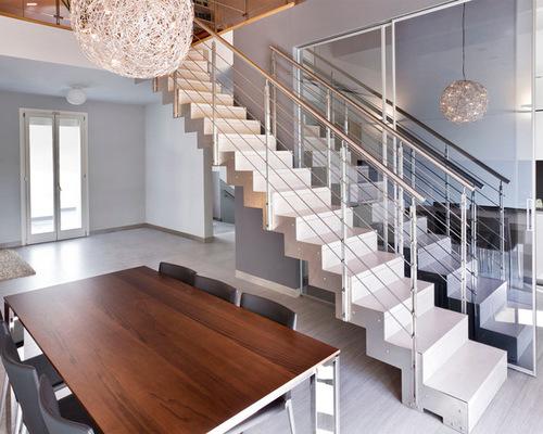 Revestimento para escada interna
