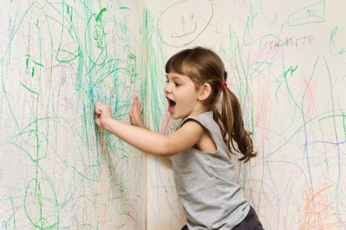 Como tirar manchas da parede