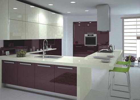 Cozinhas planejadas modernas
