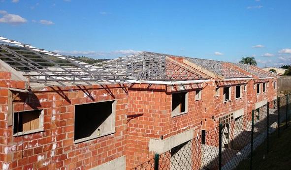 Estrutura de alumínio para telhado