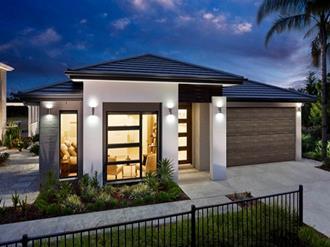 Fachadas-de-casas-pequenas-com-garagem-fechada