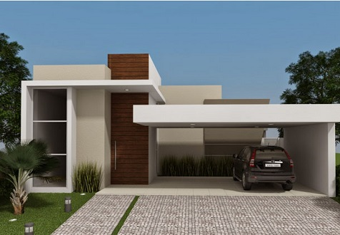 Fachadas-de-casas-pequenas-com-telhado-embutido