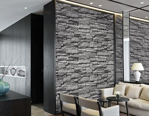 Painéis geométricos 3D para paredes