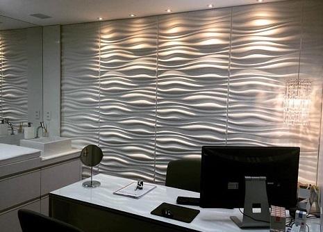 Revestimento 3d para paredes da cozinha sala e banheiro for Azulejo para pared de sala