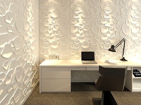 revestimento 3d para paredes da cozinha sala e banheiro decorando casas. Black Bedroom Furniture Sets. Home Design Ideas