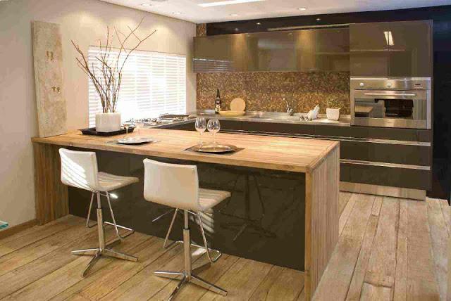 Cozinhas planejadas modernas com balcão