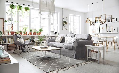 Estilo de decoração escandinavo
