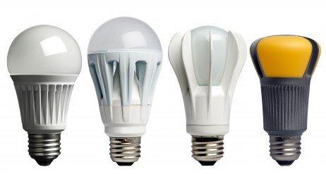 Tipos de lâmpadas residenciais