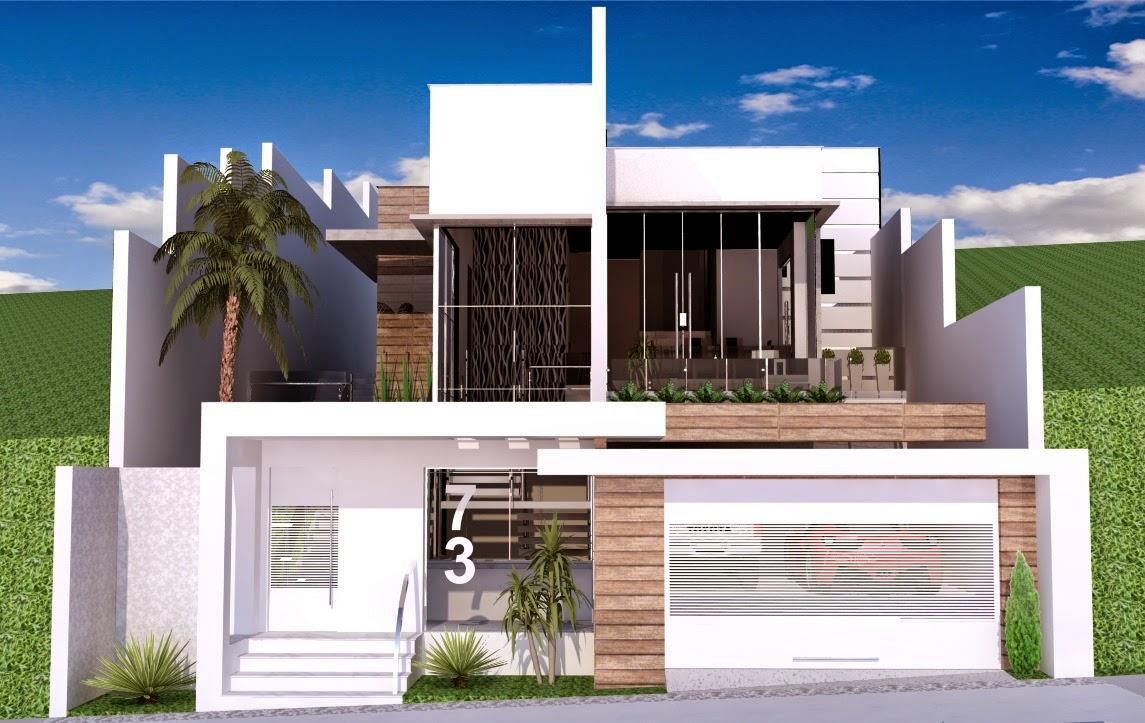 Tipos De Muros Para Frente De Casas Decorando Casas