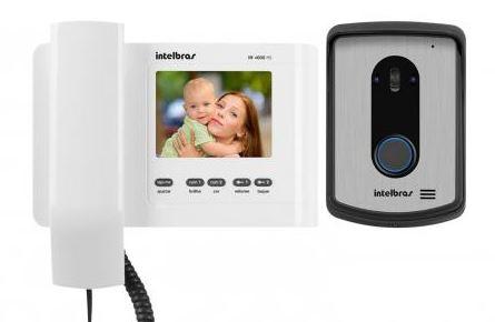 Interfone com câmera intelbras