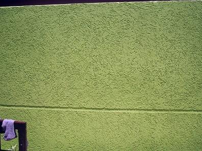 Muros decorados com textura