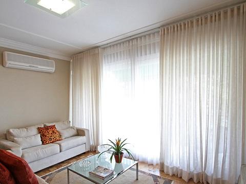 Como escolher cortina para sala