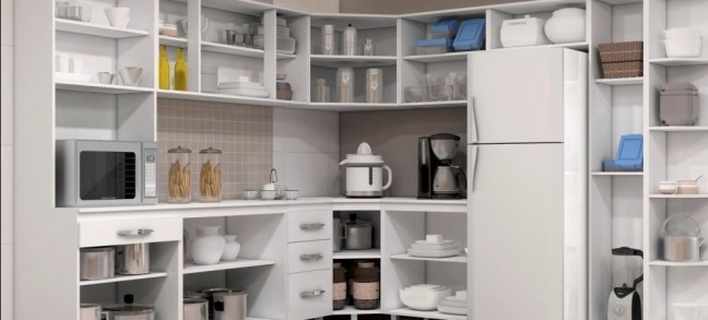 Como organizar o arm rio de cozinha decorando casas - Como organizar armarios ...