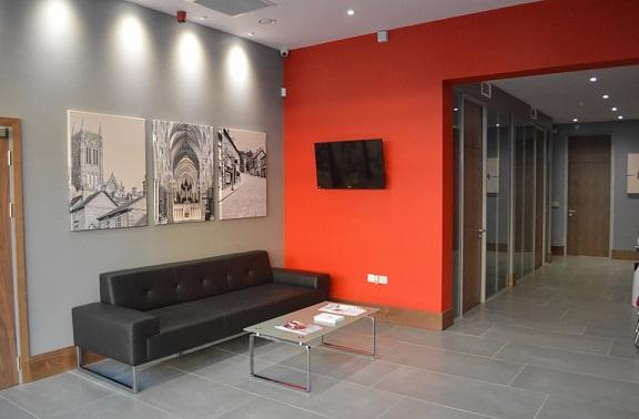 Decoração-de-recepção-de-escritório