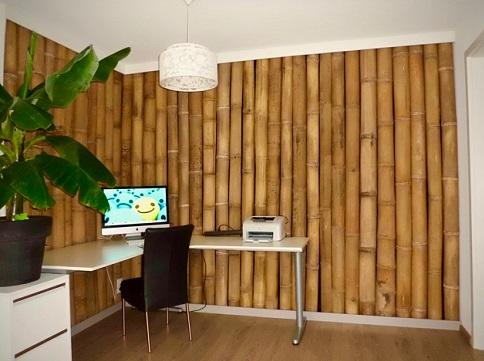 Decoração-de-sala-com-bambu