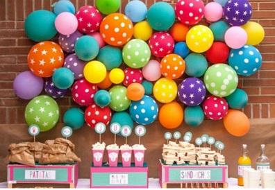 Como fazer festa de aniversário barata