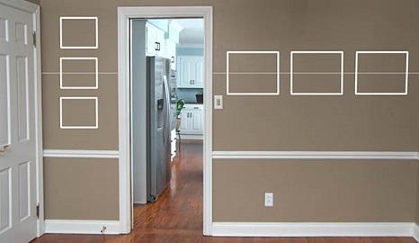 Como pendurar quadros na parede
