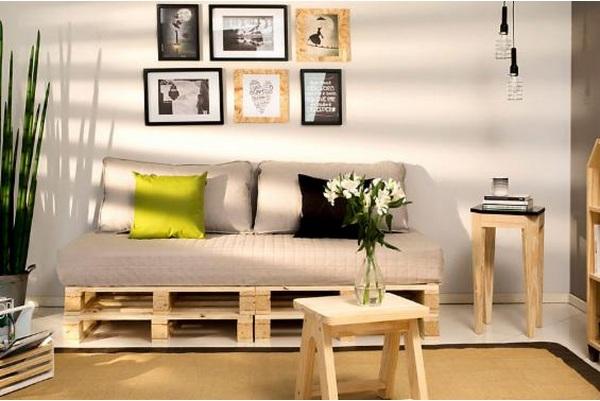 Decora o de sala com caixotes decorando casas - Categoria a3 casa ...