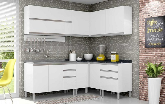 Pintura Em Armario De Cozinha De Aço : Gabinete de cozinha com pia em a?o decorando casas