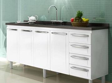Gabinete-de-cozinha-com-pia-em-aço