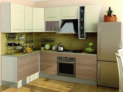 Cozinha-com-fogão-Cooktop-e-forno-embutido