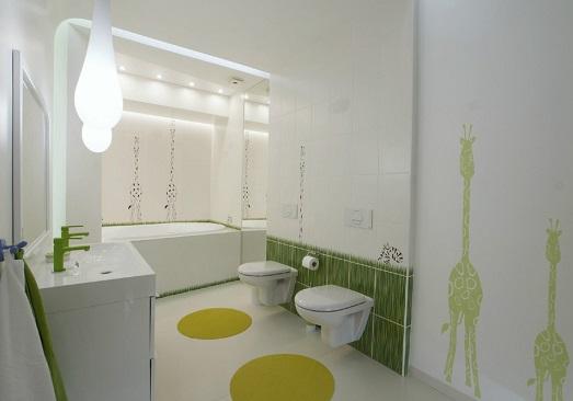 Decoração para banheiro infantil