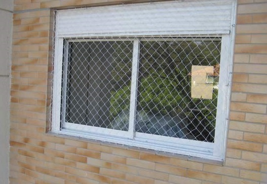 Grade de proteção para janelas