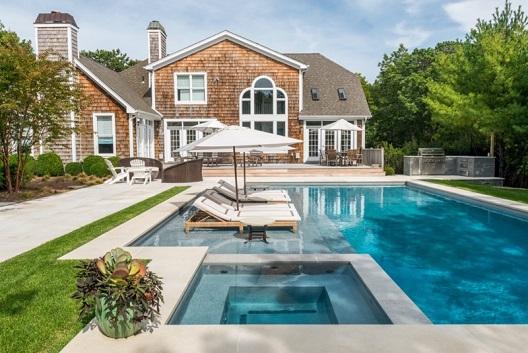 Piscina residencial moderna decorando casas for Pool design hamptons