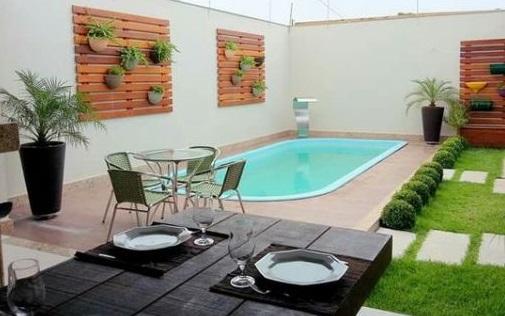piscinas pequenas para espa os pequenos decorando casas On piscinas para terrenos pequeños