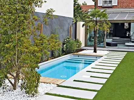 Piscinas pequenas para espa os pequenos decorando casas for Piscinas para espacios reducidos