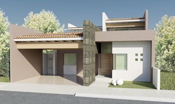 Fachadas de casas com cores claras decorando casas for Cores modernas para fachadas de casas 2016
