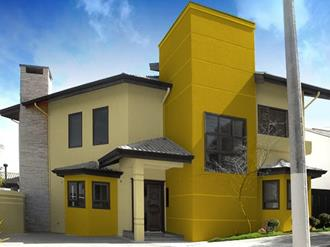 Fachadas-de-casas-com-cores-fortes