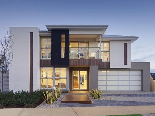 Fachadas de casas modernas 2018 fotos decorando casas for Casa moderna wallpaper