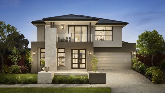 Fachadas de casas modernas 2018 fotos decorando casas for Casa moderna 80m2