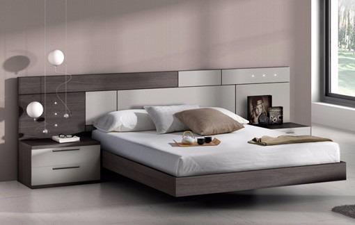 Camas de casal modernas pre os decorando casas - Como decorar un cabecero de cama ...