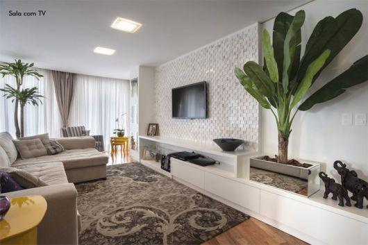 Resultado de imagem para plantas na sala de estar 2018