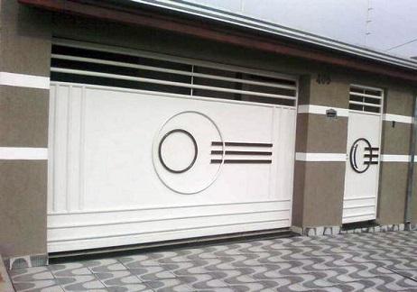 Port 227 O De Garagem Moderno Decorando Casas